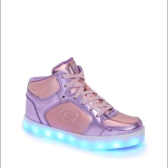 Energy Lights Metallic High Top Sneaker